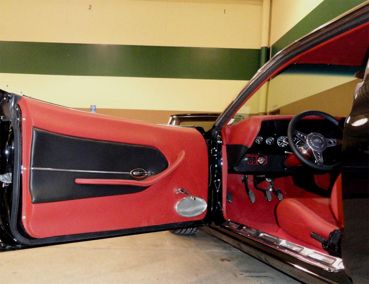 Custom 71 Cuda Car Interior Design